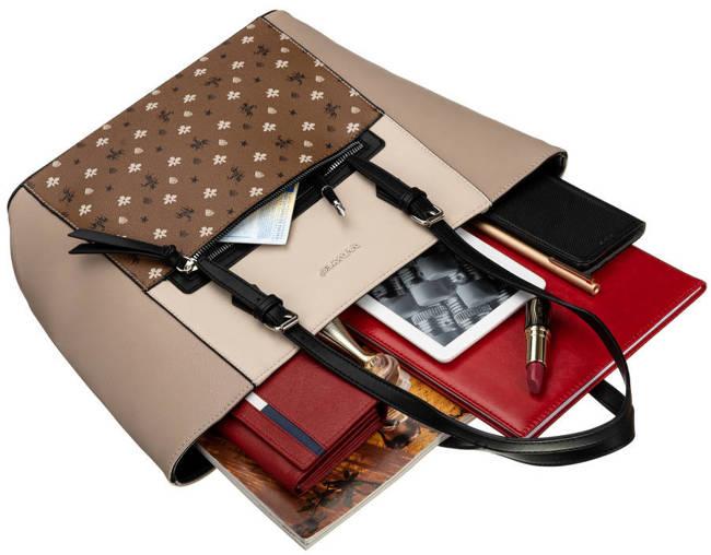 Shopperka beżowa David Jones 6531-4 BEIGE