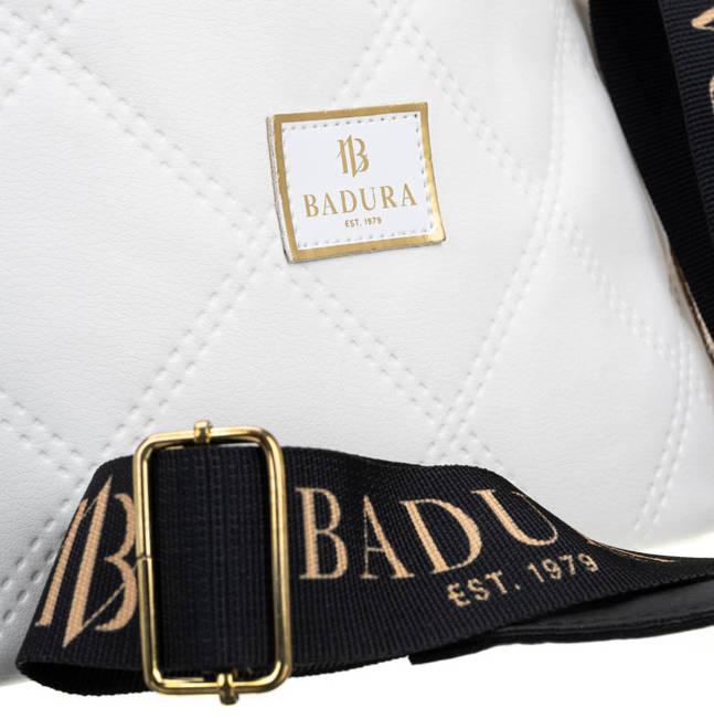 Shopperka biało-złota Badura T_D146PIK_BIA/ZL