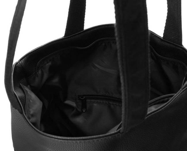 Shopperka czarna Badura T_D174CZ_CD