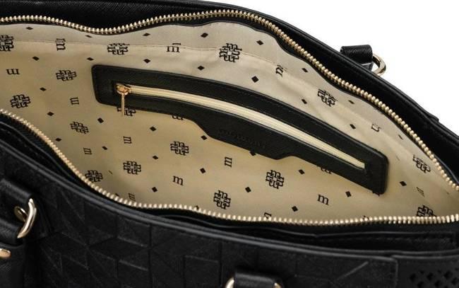 Shopperka damska czarna Monnari BAG3660-020