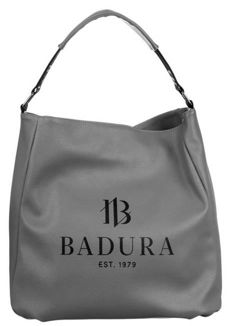 Shopperka szara Badura T_D133SZ_CD