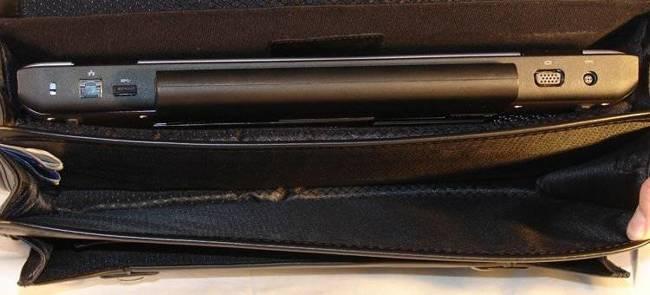 "Skórzana Teczka Męska Mcklein Halsted 80335 na laptopa 15,4"" Czarna"
