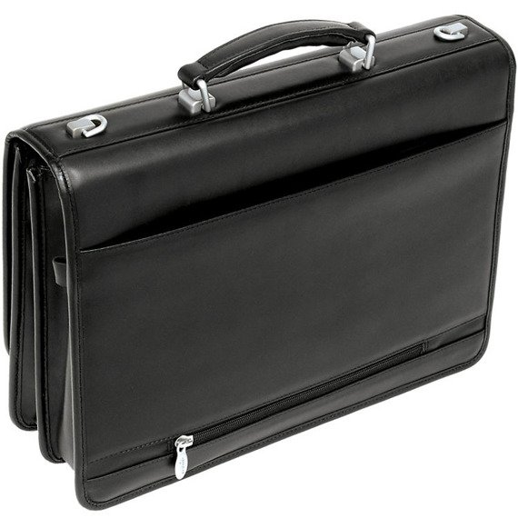 """Skórzana teczka biznesowa Mcklein Bucktown 43545 na laptopa 17"""""""