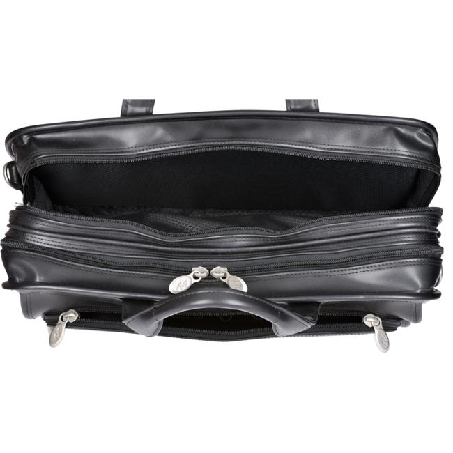 "Skórzana torba męska na laptopa 17"" Mcklein Elston 86485"