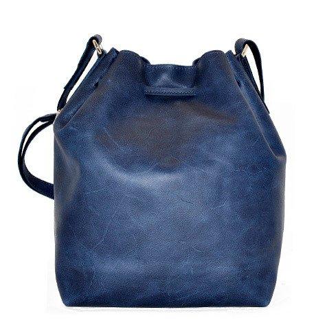 Skórzana torba worek granatowa DAAG FUNKY GO! 31