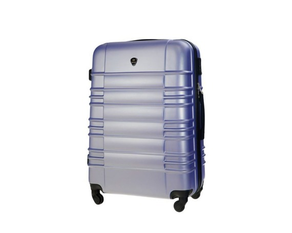 Średnia walizka podróżna STL838 lawendowa
