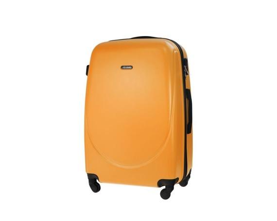 Średnia walizka podróżna STL856 pomarańczowa
