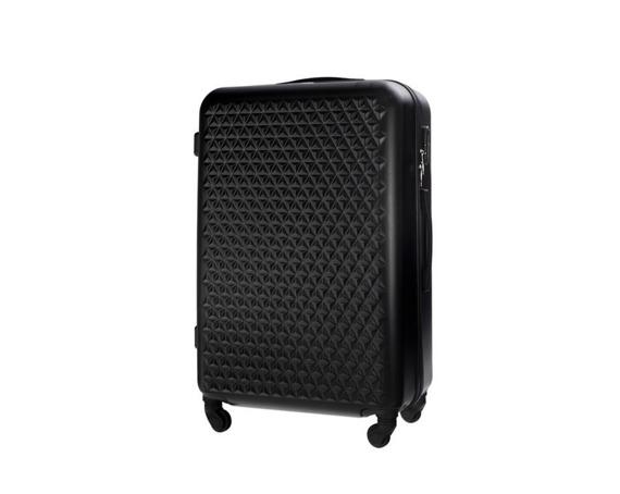 Średnia walizka podróżna STL870 czarna