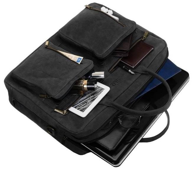 Torba na laptopa czarna Always Wild LAP-31702-TGH-7496 B