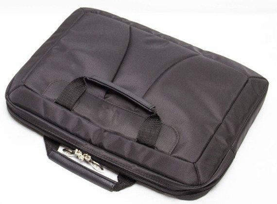 """Torba skórzana męska na laptopa 17"""" Mcklein Rockford czarna"""