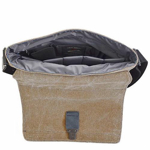 Torba skórzana oraz z tkaniny bawełnianej DAAG Clou Next 5 oliwka
