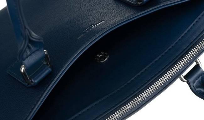 Torebka damska aktówka granatowa David Jones  6517-2A BLUE