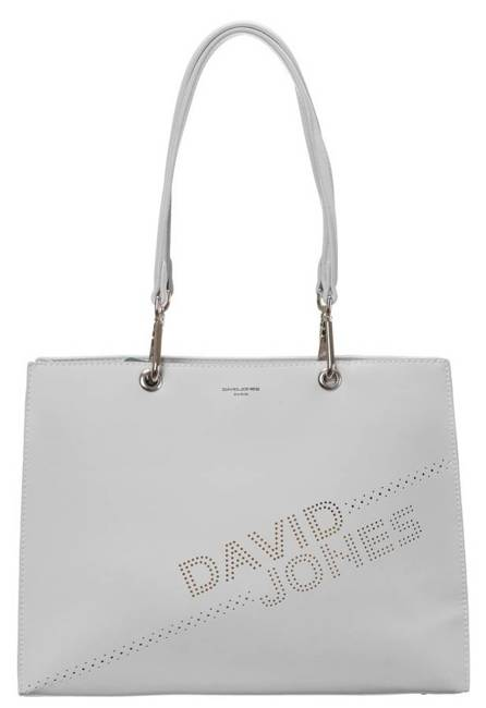 Torebka damska biała David Jones  6223-2