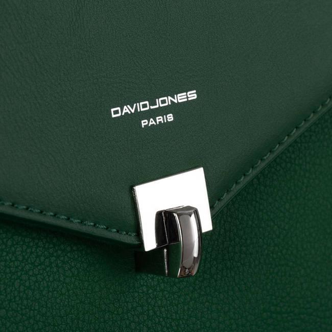 Torebka damska c. zielony David Jones 6506-1  D.GREEN