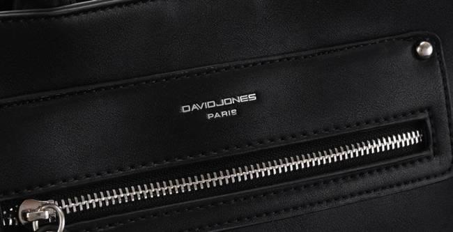 Torebka damska czarna David Jones 6267-2