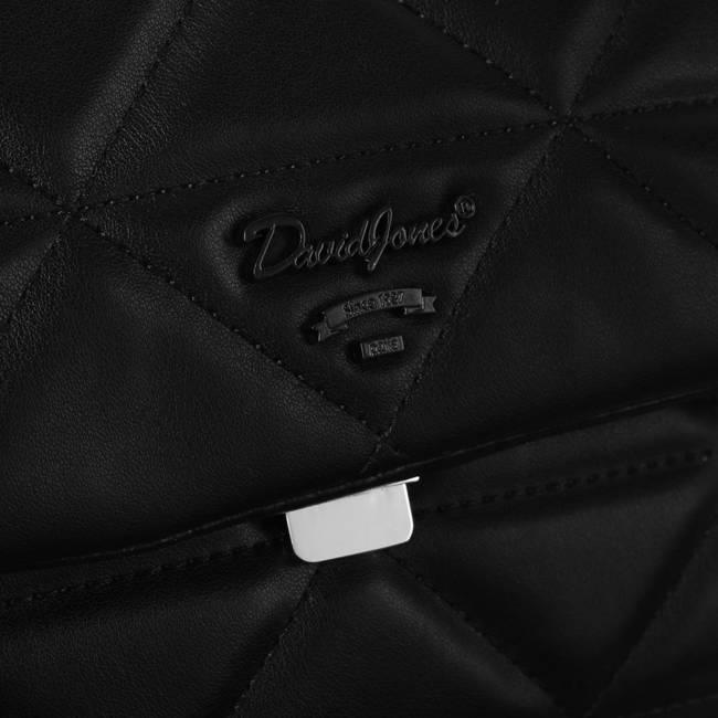 Torebka damska czarna David Jones 6519-1 BLACK