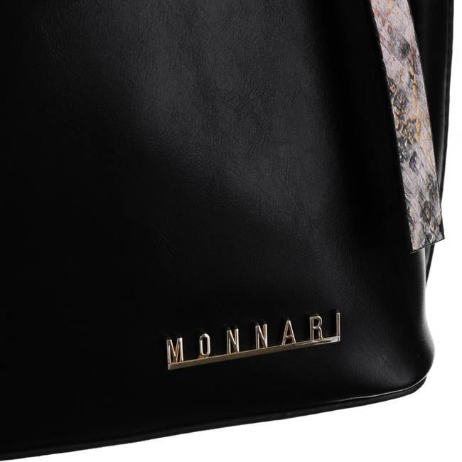 Torebka damska czarna Monnari BAG1220-020