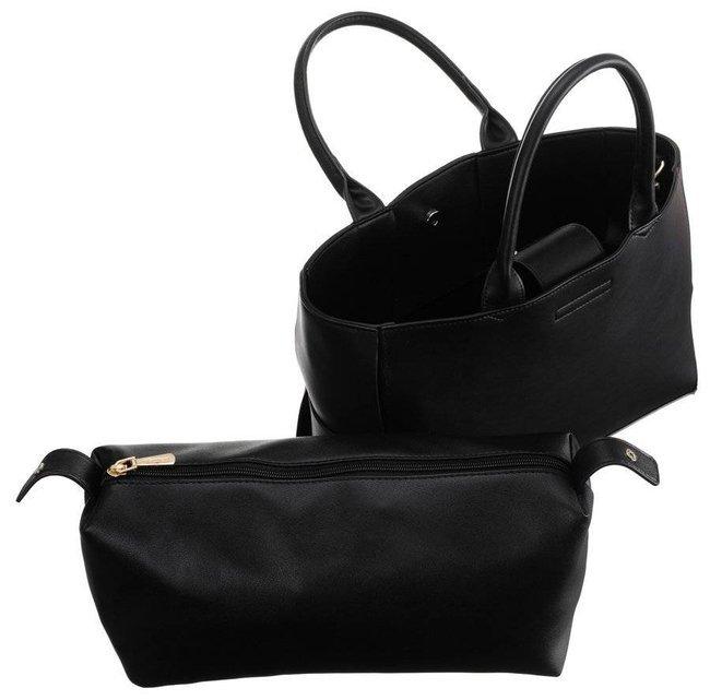 Torebka damska czarna Monnari BAG1270-020