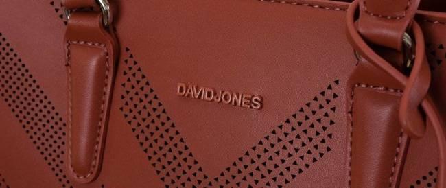 Torebka damska czerwona David Jones 6281-2