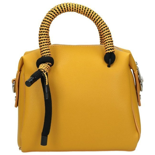 Torebka damska kuferek żółta NOBO NBAG-I4460-C002