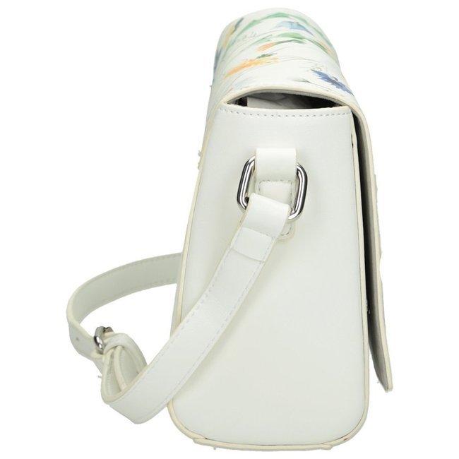 Torebka damska listonoszka biała NOBO NBAG-I1040-CM00