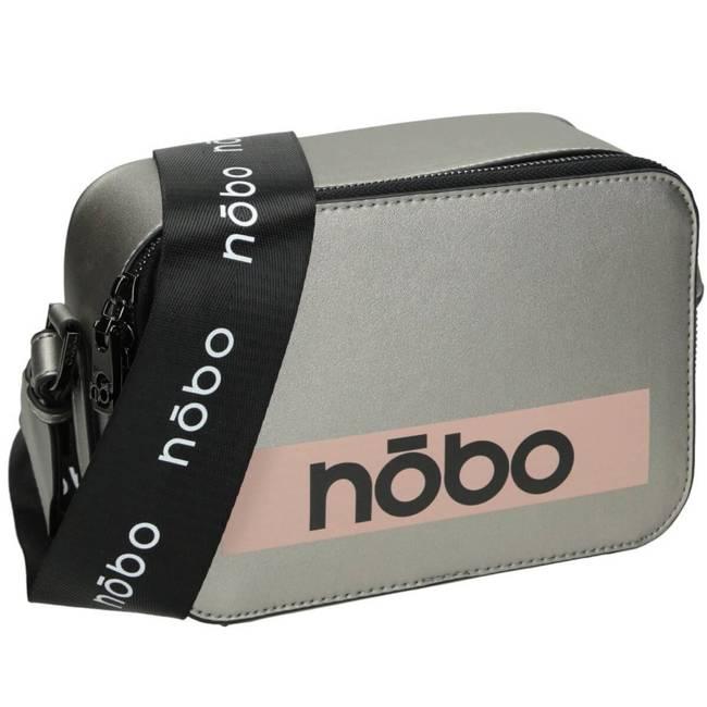 Torebka damska listonoszka srebrna NOBO NBAG-J4930-C025