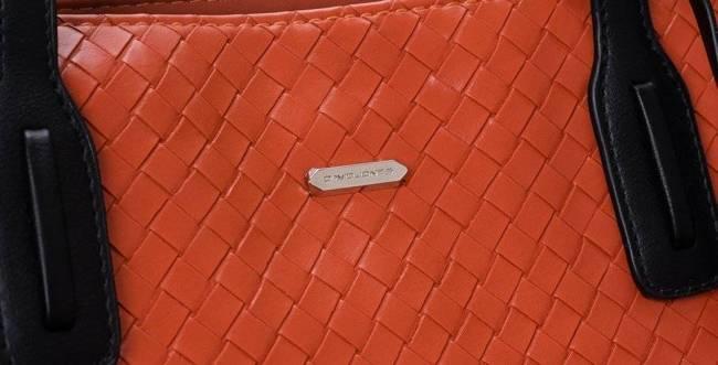 Torebka damska pomarańczowa David Jones CM6019