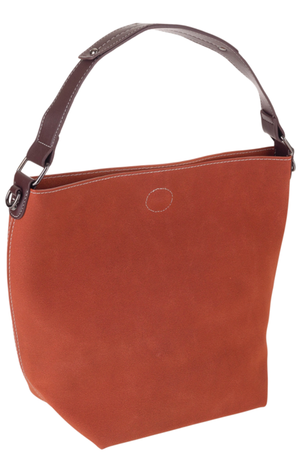 Torebka damska shopper bag 2w1 brązowa David Jones CM5325A