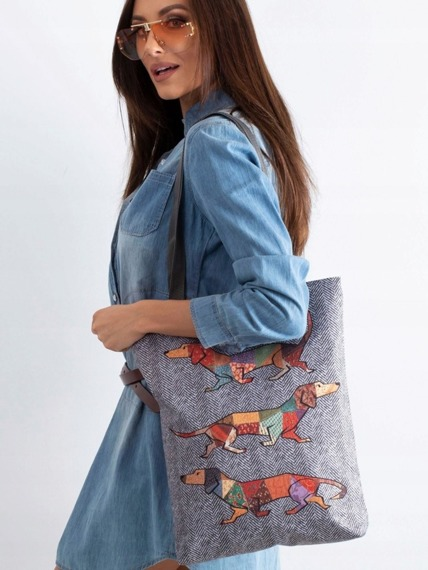 Torebka damska shopper bag Lorenti Sunny Jocker 019