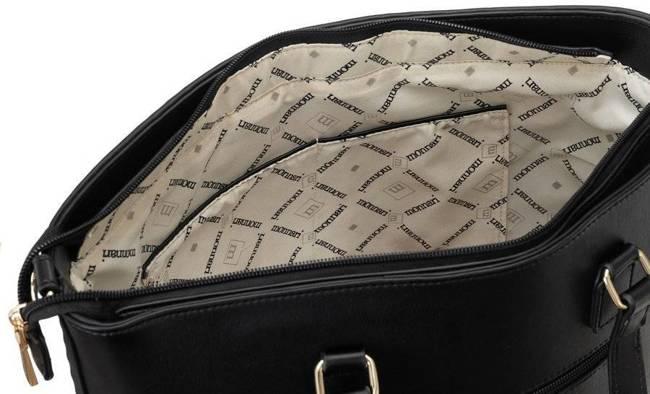 Torebka damska shopper bag tłoczona A4 Monnari 8030