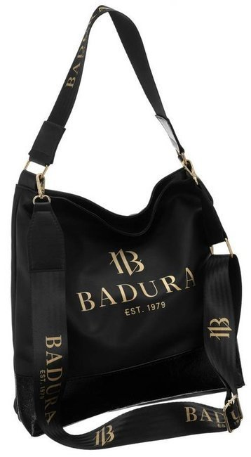 Torebka damska shopper czarna Badura T_D164CZ_CD