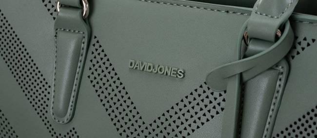 Torebka damska zielona David Jones 6281-2