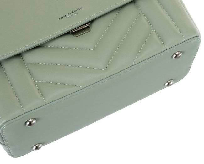 Torebka damska zielona David Jones 6501-1 W.GREEN