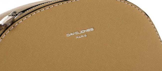 Torebka damska żółta David Jones 6224-2