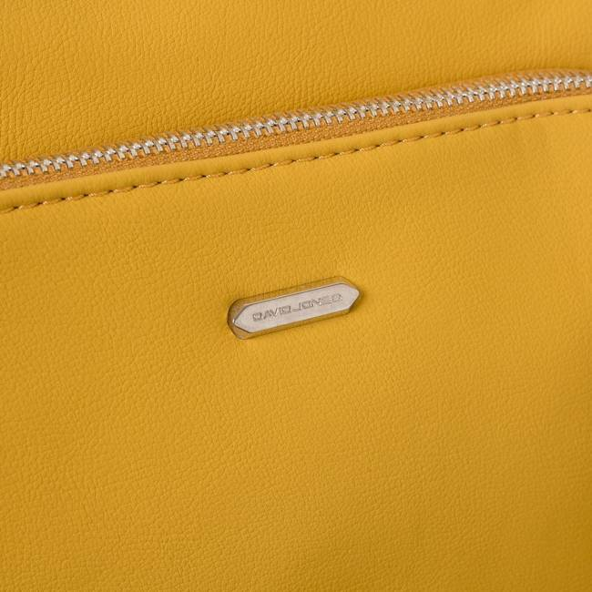 Torebka damska żółta David Jones 6299-3