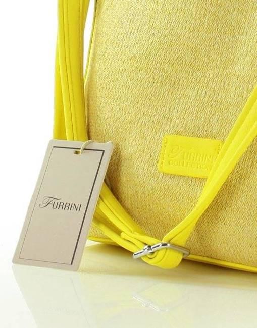 Torebka damska żółta FURRINI e269a