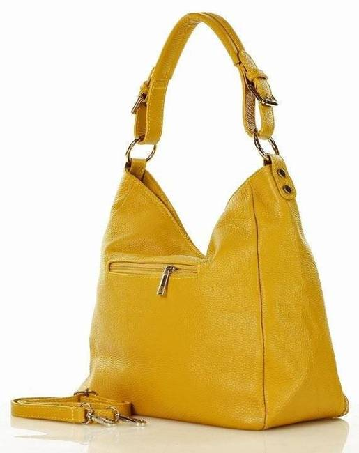 Torebka damska żółta MARCO MAZZINI s228i