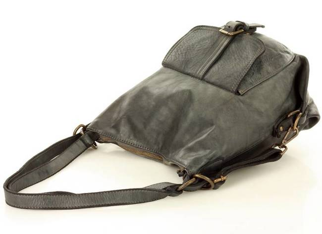 Torebka plecak 2w1 MARCO MAZZINI szary v49e