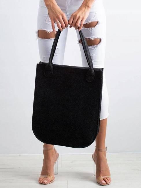 Torebka shopper bag Lorenti City Antracyt Monroe