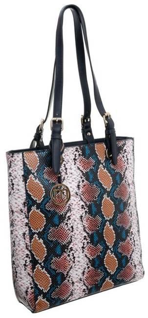 Torebka shopper bag wężowa Monnari 0520