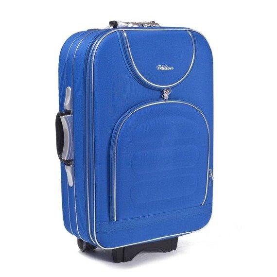 Walizka podróżna duża L Milton A801 light blue