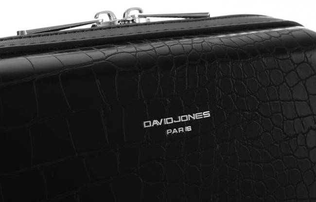 Wężowa listonoszka czarna David Jones CM5660 BLACK