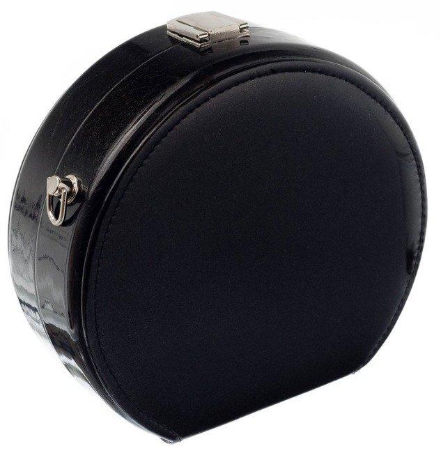 Wieczorowa torebka na łańcuszku czarna Rovicky YT05