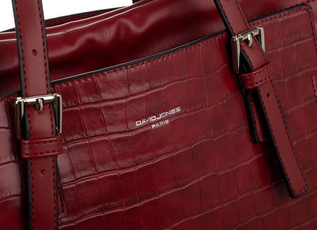 Worek bordowy David Jones CM6221 DARK RED