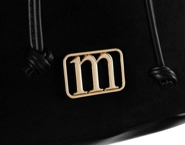 Zamszowy plecak czarny Monnari BAG2260-017