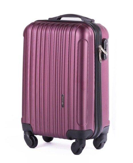 Zestaw walizek podróżnych na kółkach SOLIER STL2011 ABS bordowy