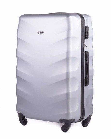 Zestaw walizek podróżnych na kółkach SOLIER STL402 ABS srebrny