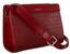 Listonoszka bordowa croco David Jones CH21024 DARK RED