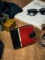 Portfel męski czarno-czerwony Rovicky 323L-RBA-D BLACK-RED