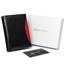 Portfel męski czarny z czerwoną wstawką  Rovicky 1502-03-BOR-1133 BLA